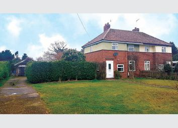Thumbnail 3 bed semi-detached house for sale in 14 Tuns Road, Necton, Norfolk