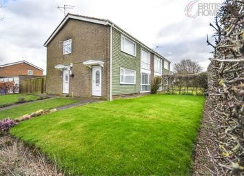Thumbnail 2 bed flat for sale in Redhill Walk, Cramlington, Northumberland