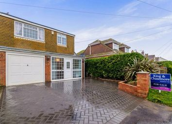 Thumbnail 3 bed semi-detached house for sale in Vernon Avenue, Peacehaven, East Sussex