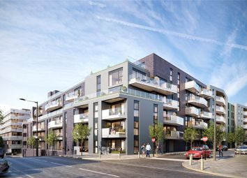 Thumbnail 3 bedroom flat for sale in Greenwich Square - Courtyard, Hawthorne Crescent, Greenwich, London