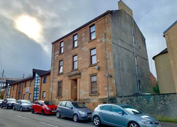 Thumbnail 3 bed flat for sale in Roxburgh Street, Greenock