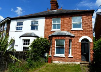 Thumbnail 2 bed semi-detached house for sale in Marlow Road, Bourne End