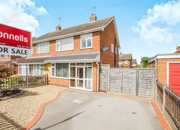 Thumbnail 3 bed semi-detached house for sale in Hawthorne Drive, Blaby, Leicester