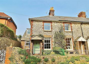 Thumbnail 2 bed end terrace house for sale in School Hill, Findon Village, West Sussex