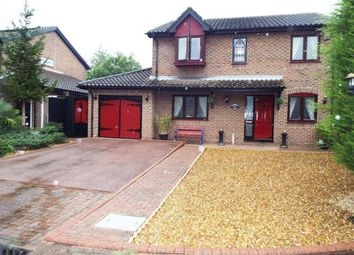 Thumbnail 4 bed detached house for sale in Riverside Mead, Stanground, Peterborough, Cambridgeshire