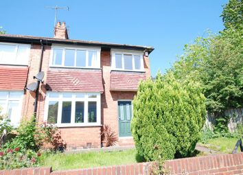 Thumbnail 3 bed semi-detached house for sale in Haddricks Mill Road, Gosforth, Newcastle Upon Tyne
