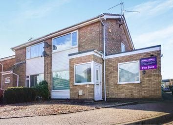 Thumbnail 2 bed semi-detached house for sale in Langley, Peterborough