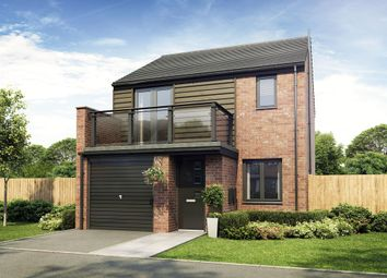 "Thumbnail 3 bed detached house for sale in ""The Kirkley"" at Exeter Road, Wallsend"