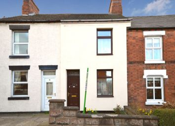Thumbnail 2 bed terraced house for sale in Moira Road, Donisthorpe, Swadlincote