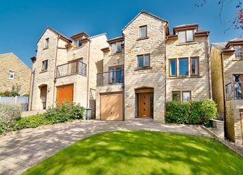 Thumbnail 4 bed detached house for sale in Leak Hall Road, Denby Dale, Huddersfield