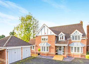Thumbnail 5 bed detached house for sale in Floyd Grove, Balsall Common, Coventry