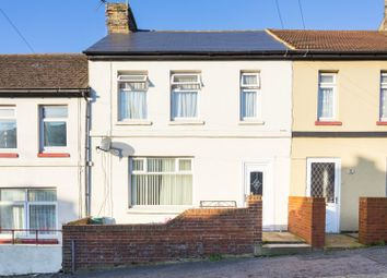 Thumbnail 3 bed terraced house for sale in Whitfield Avenue, Dover