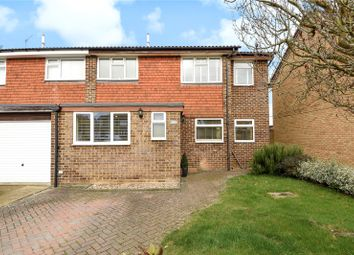 Thumbnail 3 bed semi-detached house for sale in Purssell Close, Maidenhead, Berkshire