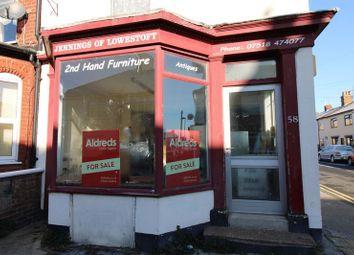 Thumbnail 1 bedroom flat for sale in Norwich Road, Lowestoft, Suffolk