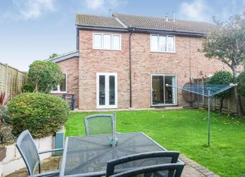 Thumbnail 3 bed semi-detached house for sale in Home Farm Close, Lake