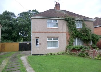 Thumbnail 1 bed semi-detached house to rent in Charter Avenue, Canley, Coventry