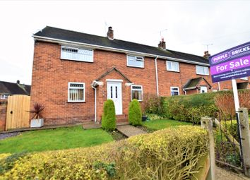 Thumbnail 3 bed end terrace house for sale in Heol Y Cyngor, Wrexham