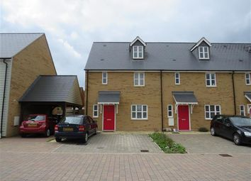 Thumbnail 3 bedroom terraced house to rent in Collingwood Gardens, Brooklands, Milton Keynes