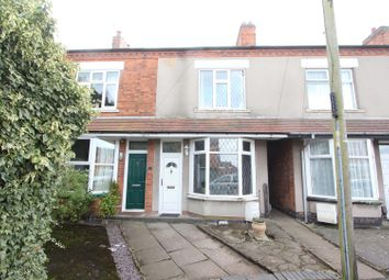Thumbnail 3 bed terraced house for sale in George Street, Barwell, Leicester