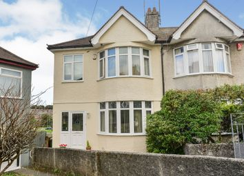 Thumbnail 3 bed semi-detached house for sale in Furneaux Avenue, Plymouth