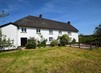 Thumbnail 4 bed farmhouse to rent in Pennymoor, Tiverton