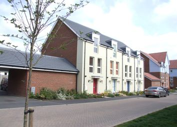 Thumbnail 3 bed town house for sale in Peacock Grove, Costessey, Norwich