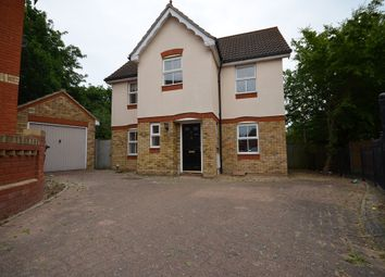 Thumbnail 3 bed detached house to rent in Rush Green, Romford, Essex