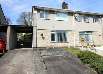 Thumbnail 3 bed semi-detached house for sale in Glencourt, Sebastopol, Pontypool, Torfaen