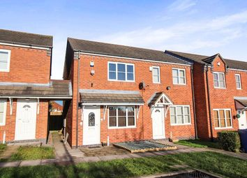Thumbnail 2 bed terraced house for sale in Elliott Close, Cannock