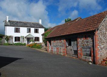 Thumbnail 4 bed farmhouse for sale in Burrington, Umberleigh