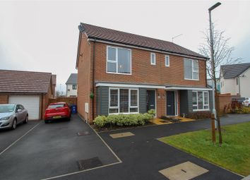Thumbnail 3 bedroom semi-detached house for sale in Harold Hines Way, Trentham Manor, Stoke-On-Trent