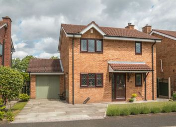 Thumbnail 3 bed detached house for sale in Denbury Drive, Altrincham