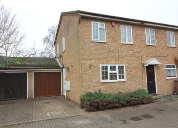 Thumbnail 2 bed semi-detached house for sale in Laxton Close, Luton
