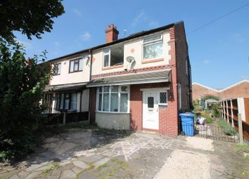 Thumbnail 4 bed semi-detached house for sale in Hazel Grove, Urmston, Manchester