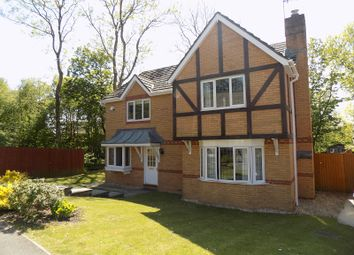 Thumbnail 4 bed detached house for sale in Llys Castell, Margam Village, Port Talbot, Neath Port Talbot.