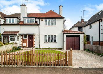 Thumbnail 4 bedroom semi-detached house for sale in Belmont Road, Bushey