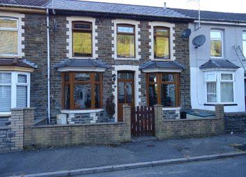 Thumbnail 3 bed terraced house for sale in St. John Street, Ogmore Vale, Bridgend