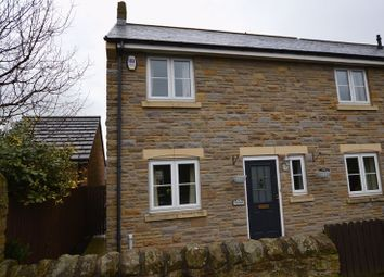 Thumbnail 4 bed semi-detached house for sale in Percy Road, Shilbottle, Alnwick