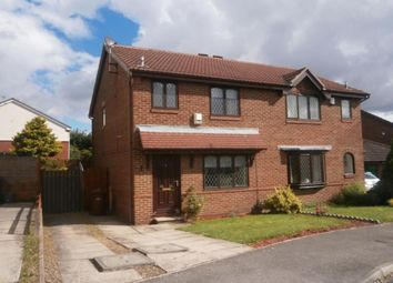 Thumbnail 3 bedroom semi-detached house to rent in Hopefield Court, Rothwell, Leeds