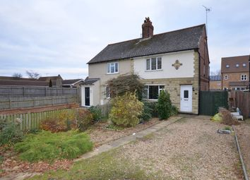 Thumbnail 3 bed semi-detached house for sale in Cloot Drove, Crowland, Peterborough