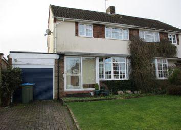 Thumbnail 4 bed semi-detached house for sale in Knighton Road, Otford, Sevenoaks