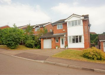 Thumbnail 4 bed detached house for sale in Maddox Close, Monmouth