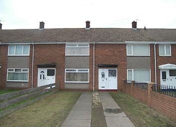 Thumbnail 2 bed terraced house to rent in Souter View, Whitburn, Sunderland