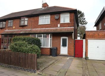 Thumbnail 3 bedroom semi-detached house for sale in Medina Road, Off Groby Road