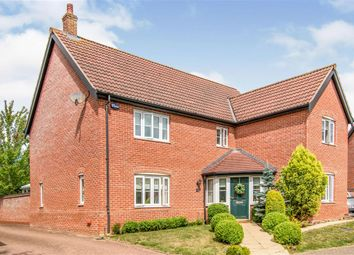 Thumbnail 4 bed detached house for sale in Goulder Drive, Aylsham, Norwich