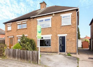 Thumbnail 3 bed semi-detached house for sale in Rockwood Crescent, Hucknall, Nottingham