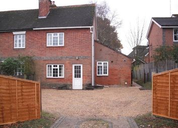 Thumbnail 2 bed semi-detached house to rent in Main Road, Colden Common, Winchester