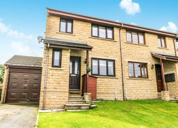 Thumbnail 3 bedroom end terrace house for sale in Mill Close, Meltham, Holmfirth