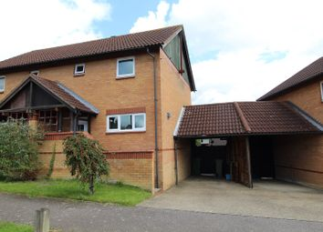 Thumbnail 3 bed semi-detached house for sale in Chepstow Drive, Milton Keynes