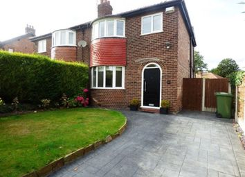 Thumbnail 3 bed semi-detached house to rent in Hermitage Road, Hale, Altrincham